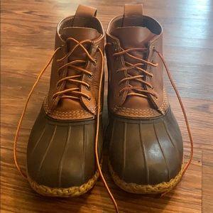 L.L. Bean Boots. Size 12 (wide) — runs large